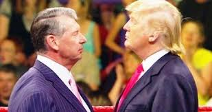 Image result for wwe vince mcmahon donald trump