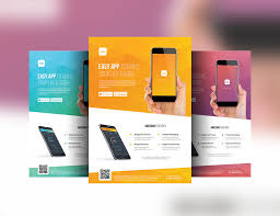 mobile app promotion flyer template by affant on mobile app promotion flyer template by affant