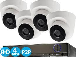 <b>Комплект видеонаблюдения</b> для дома или офиса, 4 камеры 4K