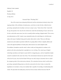 page essay example