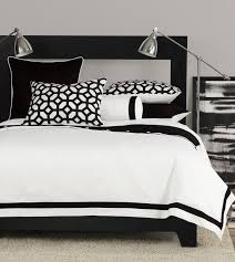 bedrooms with black and white bedding set combined with stainless steel arch lamps with black and bedroom awesome black white bedrooms black