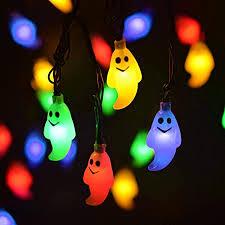 LEVIITEC Solar <b>Halloween</b> Decorations String Lights, 30 <b>LED</b>