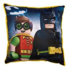 <b>Подушка</b> BAT MOVIE HERO SQUARE 40x40 см, <b>Lego</b>
