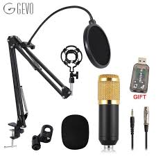 <b>GEVO</b> BM 800 Microphone For Computer Wired Studio Condenser ...