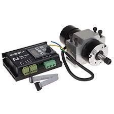 UCONTRO 400W 24-60V <b>DC</b> ER8 CNC <b>Brushless</b> Spindle <b>Motor</b> ...