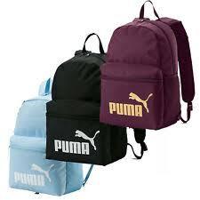 PUMA Phase <b>Backpack Unisex</b> Sport <b>Bag</b> 22 L. Blue/white for sale ...