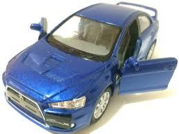 1:36 Scale 2008 <b>Mitsubishi Lancer</b> Evo <b>Evolution X</b> diecast model ...