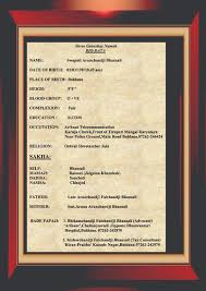 biodata for marriage elegant red copy  2479 times 3508 in biodata