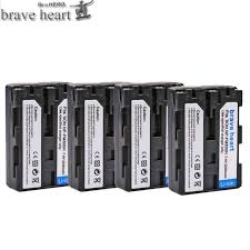 4pcs <b>2000mah NP FW50 NP FW50</b> Battery AKKU For Sony NEX 3N ...