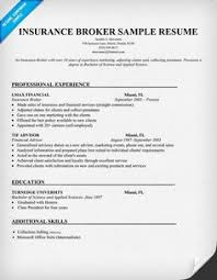insurance agent resume example   resume examples  resume and writersinsurance broker sample resume  resumecompanion com