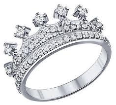 SOKOLOV <b>Кольцо</b>-<b>корона с фианитами</b> 94011218 — купить по ...