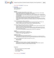 google resume examples com google resume examples to inspire you how to create a good resume 18