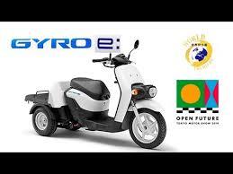 2020 <b>new</b> Honda Gyro e: <b>electric scooter</b> (Japan) photos & details ...