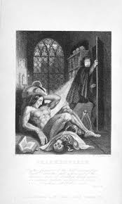 the origins of the gothic the british library 1831 edition of frankenstein by mary shelley page frontispiece