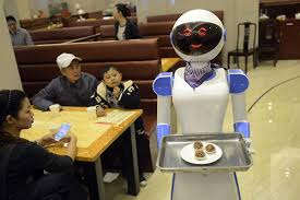 Image result for robot waiters