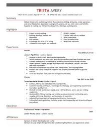 the best cv and cover letter templates in the uk   livecareerwelder construction thumbnail resume