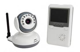 <b>2.4GHz Wireless Digital Color</b> LCD Baby Monitor with Night Vision ...