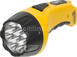 Купить <b>Ручной фонарь ЯРКИЙ</b> ЛУЧ LA-07, желтый в интернет ...
