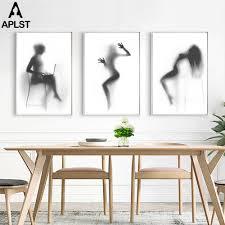 <b>Naked</b> Girl Poster <b>Nude Woman Canvas</b> Prints Modern Boy Girl's ...