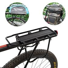 Mountain Road Bike Rear Rack <b>Aluminum Alloy MTB Bicycle</b> Back ...