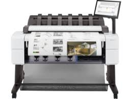 <b>HP DesignJet T2600dr</b> 36-in <b>PostScript</b> Multifunction Printer ...