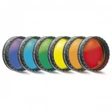 Набор цветных фильтров Baader (6 шт.), 1,25 - Celestron
