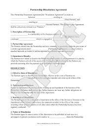 partnership dissolution agreement form sample partnership partnership dissolution agreement form sample partnership dissolution agreement form