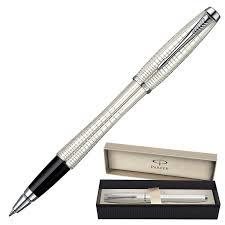 """<b>Ручка</b>-<b>роллер</b> подарочная <b>PARKER</b> """"Urban Premium Pearl Metal ..."""