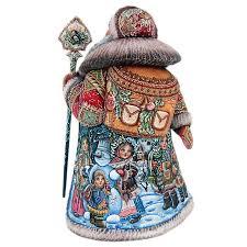 "Скульптура из дерева ""Дед Мороз""   Дед мороз, Москва и ..."