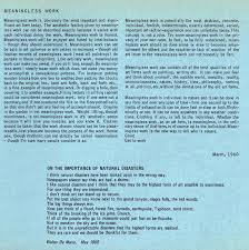 walter de maria compositions essays meaningless work natural  compositions essays meaningless work natural disasters