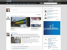 linkedin redesign proves it wants to be more like facebook linkedin homepage simpler
