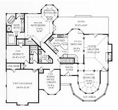 Jeffersonian Victorian Home Plan D    House Plans and MoreTraditional House Plan First Floor   D    House Plans and More