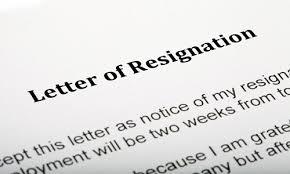 sample resignation letters    unbreakable rule   never resign in    sample resignation letters
