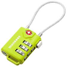 <b>Munkees Combination Lock</b> - Outdoors Geek