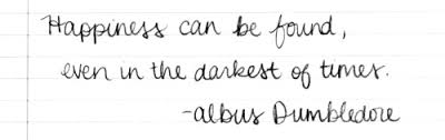 harry potter quote submission JK Rowling albus dumbledore ...