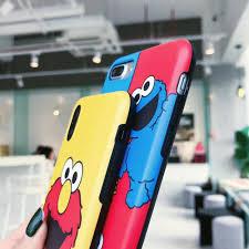 IMD Painting Soft Covers for iPhone Xs/Max <b>Cartoon Sesame Street</b> ...