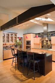 ceiling track lift kitchen contemporary with eat in kitchen sloped ceiling bedroom modern kitchen track