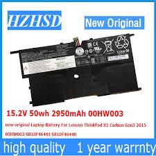 2019 15.2V 50wh 2950mAh 00HW003 <b>New Original Laptop Battery</b> ...