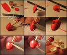 Чашка из полимерной глины мастер-класс