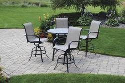 Backyard Creations® Collins Collection <b>5</b>-<b>Piece High</b> Dining Patio ...