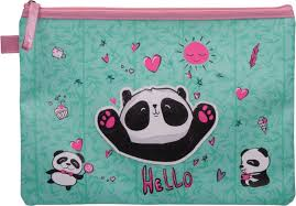 <b>Папка</b> для тетрадей <b>Berlingo</b> Panda, PVCA4 (210 x 297 мм)_012, <b>A4</b>