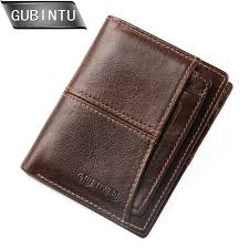 JINBAOLA 2019 <b>Vintage Genuine Leather</b> Men Wallets Zipper Coin ...