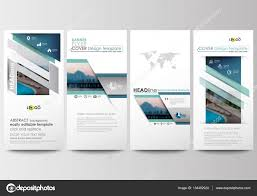 flyers set modern banners business templates cover template business templates cover template flat design blue color