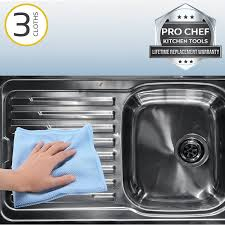 product reviews stainless steel kitchen although the description calls these cleaning cloths it is intended mo