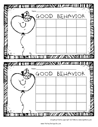 printable reward and incentive charts apple behavior chart black and white