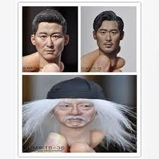 KUMIK 1/6 Scale head Accessories KM 33 34 35 36 <b>38 41</b> 42 43 44