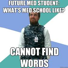 Unabridged First Year Medical Student memes | quickmeme via Relatably.com