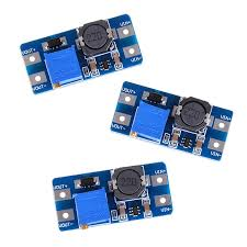 <b>3Pcs Dc</b>-<b>Dc 5V</b> / 9V / 12V / 28V Boost Converter Adjustable Power ...