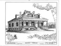 Bagatelle Plantation  Louisiana  Southern Style Houses   Southern        home plan  image