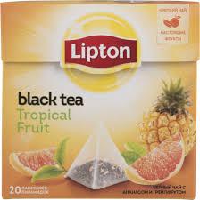 Купить <b>чай черный Lipton tropical</b> fruit 20 пакетиков, цены в ...